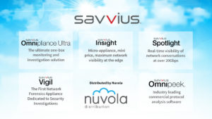 Savvius solutions and Nuvola Distribution