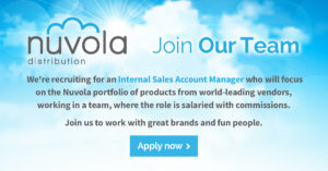 Nuvola are recruiting for a sales account manager