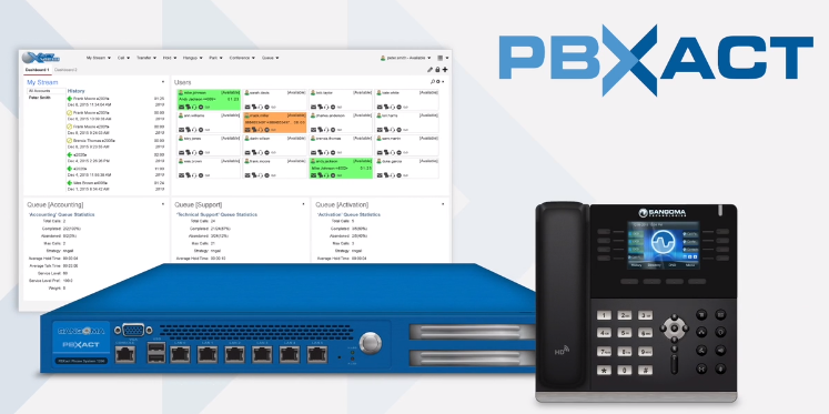 PBXact PBX Solution from Sangoma Distributed by Nuvola